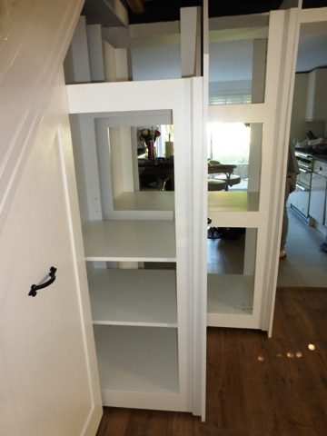 How much does under stairs storage cost to have built or ...